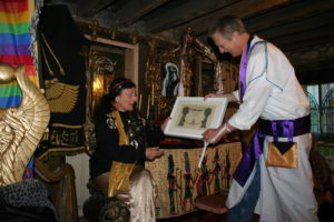 olivia_robertson_and_david_de_roeck_at_the_temple_of_isis_huntington_castle_ireland