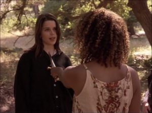 Scena inicjacji z filmu The Craft