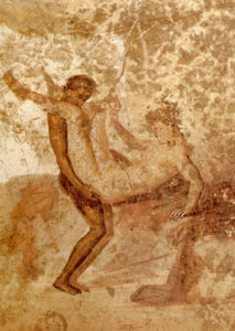 sexual_scene_on_pompeian_mural_6