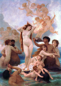 Narodziny Wenus, William Adolphe-Bouguereau