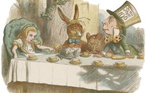 A30FXC Mad Hatters Tea Party